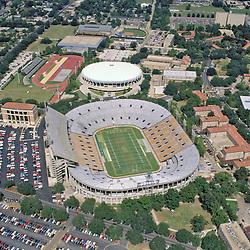 Aerial view of Tiger Stadium at Louisiana State University