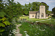 Church of St Michael and St Martin at Eastleach Martin, The Cotswolds, Gloucestershire, UK
