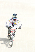 May0041710 . Daily Telegraph..Features..2012 Olympics..BMX racing Finals at the Olympics ...10 August 2012....