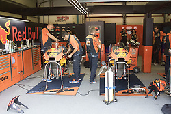 June 3, 2018 - Mugello, Italy, Italy - Box KTM during Race MotoGP  at the Mugello International Cuircuit for the sixth round of MotoGP World Championship Gran Premio d'Italia Oakley on June 3, 2018 in Scarperia, Italy  (Credit Image: © Fabio Averna/NurPhoto via ZUMA Press)