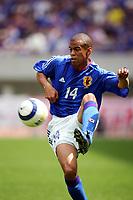 Alessandro Santos (JPN),<br /> MAY 22, 2005 - Football : KIRIN CUP SOCCER 2005 between Japan 0-1 Peru at Niigata Stadium Big Swan, Niigata, Japan. <br /> (Photo by AFLO SPORT/Digitalsport<br /> Norway only