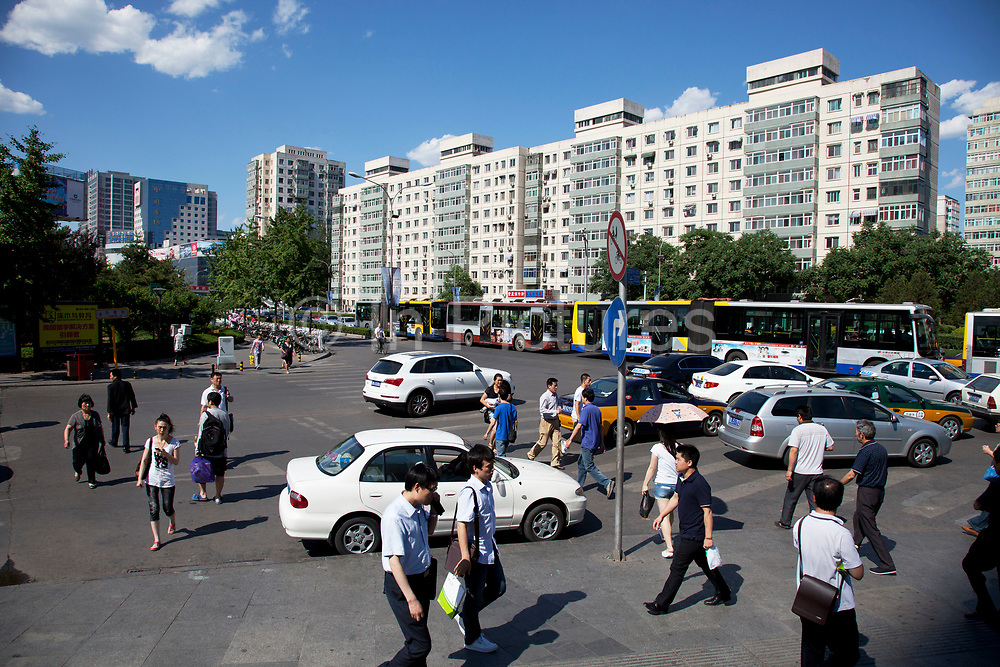 Zhongguancun or Zhong Guan Cun, is a technology hub in Haidian District, Beijing, China. It is situated in the northwestern part of Beijing city. Zhongguancun is very well known in China, and is often referred to as China's Silicon Valley. This is Beijing's computer district with numerous tech companies offices situated here amongst the many malls which sell electronics and electrons equipment of all kinds. The tech park started as a small office where two decades ago some students from a nearby university decided that computer equipment may be a thing of the future so set up a small company. It has expanded in this time to  cover many square kilometres.