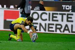 June 5, 2017 - Saint Denis, Seine Saint Denis, France - PARRA player of the ASM Clermont-Auvergne, during the final of the French Rugby Championship Top 14 against Rugby Club Toulonnais at the Stade de France - St Denis France.ASM Clermont beat RC Toulon 22-16 (Credit Image: © Pierre Stevenin via ZUMA Wire)