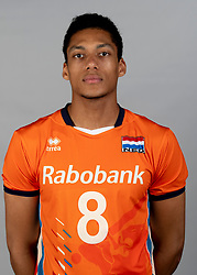 14-05-2018 NED: Team shoot Dutch volleyball team men, Arnhem<br /> Fabian Plak #8 of Netherlands