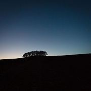 Last light, Ward Law, Dumfries and Galloway, Scotland.