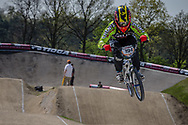 #194 (VILLEGAS Federico) ARG at the 2016 UCI BMX Supercross World Cup in Papendal, The Netherlands.