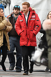 Lifetime movie 'Harry & Meghan: The Royal Love Story' begins filming in Canada. Meghan Markle will be portrayed by actress Parisa Fitz-Henley and her royal fiancé Prince Harry will be portrayed by Murray Fraser. The actors were spotted filming scenes in downtown Vancouver, with the Parisa filming scenes on location for TV show 'Suits' in a trailer while Harry was seen rehearsing scenes meeting a crowd at a red carpet event. The TV film is set to re-enact how the couple fell in love. 14 Feb 2018 Pictured: Parisa Fitz-Henley, Murray Fraser. Photo credit: MEGA TheMegaAgency.com +1 888 505 6342