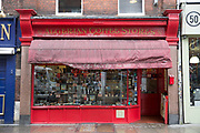 Algerian Coffee Stores on 7th October 2015 In London, United Kingdom. Algerian Coffee Stores along Old Compton Street in Soho. The store has been open since 1887 selling coffees and teas