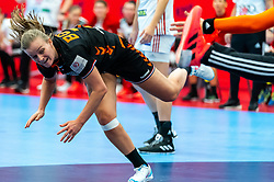 Debbie Bont of Netherlands in action during the Women's EHF Euro 2020 match between Netherlands and Hungry at Sydbank Arena on december 08, 2020 in Kolding, Denmark (Photo by RHF Agency/Ronald Hoogendoorn)