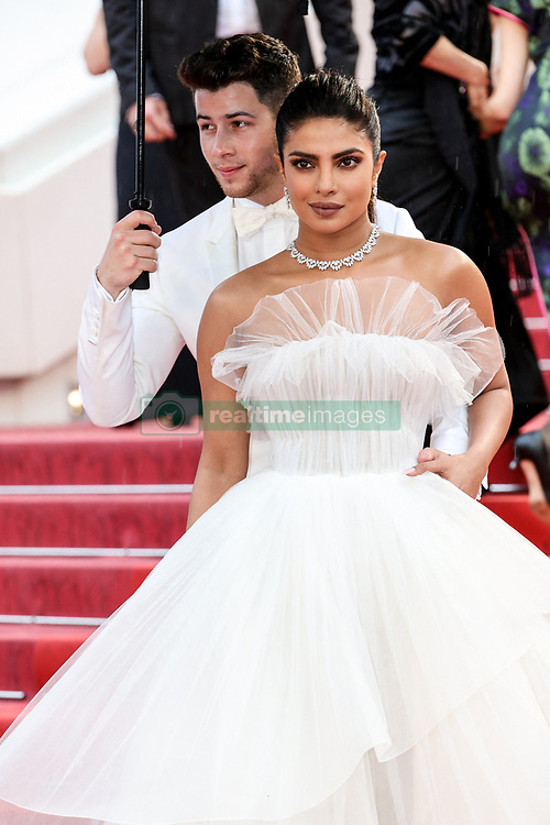 Cannes Film Festival 2019: 05_LES PLUS BELLES ANNEES D'UNE VIE. 18 May 2019 Pictured: Priyanka Chopra and Nick Jonas. Photo credit: LB/IS/MPI/Capital Pictures / MEGA TheMegaAgency.com +1 888 505 6342