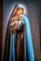 """Santa Chiara in the Cathedral of San Rufino Assisi""...<br />