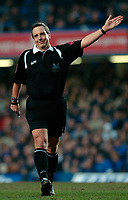 Photo: Daniel Hambury.<br />Chelsea v Liverpool. The Barclays Premiership. 05/02/2006.<br />Referee Alan Wiley.