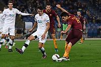 Gol Diego Perotti Rabona Roma 3-1 <br /> Roma 24-11-2016  Stadio Olimpico Europa Football League 2016/2017 AS Roma - Viktoria Plzen Foto Andrea Staccioli / Insidefoto