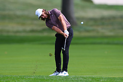 August 26, 2018 - Paramus, NJ, U.S. - PARAMUS, NJ - AUGUST 26:  Tommy Fleetwood of England plays his shot from the 16th fairway during the final round of The Northern Trust on August 26, 2018 at the Ridgewood Championship Course in Ridgewood, New Jersey. (Photo by Rich Graessle/Icon Sportswire) (Credit Image: © Rich Graessle/Icon SMI via ZUMA Press)