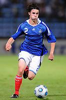 Fotball<br /> Frankrike v Ukraina U21<br /> 08.09.2009<br /> Foto: DPPI/Digitalsport<br /> NORWAY ONLY<br /> <br /> FOOTBALL - UEFA EURO 2011 UNDER 21 - QUALIFYING ROUND - GROUP 8 - FRANCE U21 v UKRAINE U21 - 8/09/2009 <br /> <br /> SEBASTIEN CORCHIA (FRA)