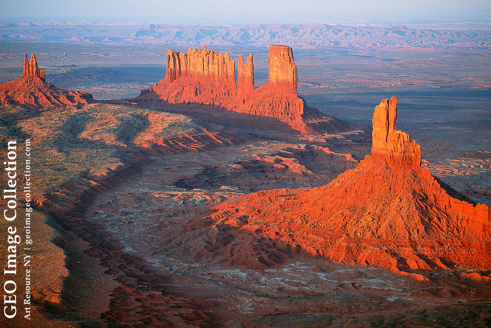View from Monument Valley, Utah