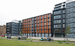 New student accommodation flats for Napier University in Edinburgh, Scotland, United Kingdom