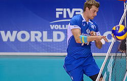 20150614 NED: World League Nederland - Finland, Almere<br /> Konstantin Shumov #14
