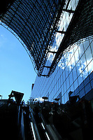 The new Kyoto station building was built on the occasion of the 1,200th anniversary of the formation of the Heian period dynasty and government of Japan, of which Kyoto was capital at that time. It was opened to the public in 1997 in contrast with the tourists' image of Kyoto of being only a traditional, ancient town.