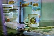 The Waffle House in Abita Springs Louisiana, temporarily closed due to the Coronavirus Pandemic.