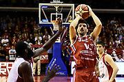 Monaldi Diego<br /> Grissin Bon Pallacanestro Reggio Emilia - VL Pesaro<br /> Lega Basket Serie A 2017/2018<br /> Reggio Emilia, 08/10/2017<br /> Foto A.Giberti / Ciamillo - Castoria
