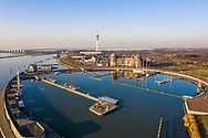 Nederland, Lelystad, 20190227<br /> Jachthaven en pleziervaarthaven van Lelystad. <br /> <br /> Foto (c) Michiel Wijnbergh