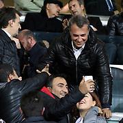 Besiktas's and Medicana Sivasspor's during their Turkish Super League soccer match Besiktas between Medicana Sivasspor at the Basaksehir Fatih Terim arena in Istanbul Turkey on Sunday, 22 November 2015. Photo by Kurtulus YILMAZ/TURKPIX