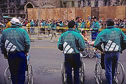 1991 Boston Marathon Finish Area