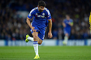 Diego Costa of Chelsea in action. UEFA Champions League group G match, Chelsea v Maccabi Tel Aviv at Stamford Bridge in London on Wednesday 16th September 2015.<br /> pic by John Patrick Fletcher, Andrew Orchard sports photography.