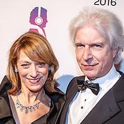 NLD/Hilversum/20160215 - Buma Awards 2016, Boudewijn de Groot en partner Anja Bak