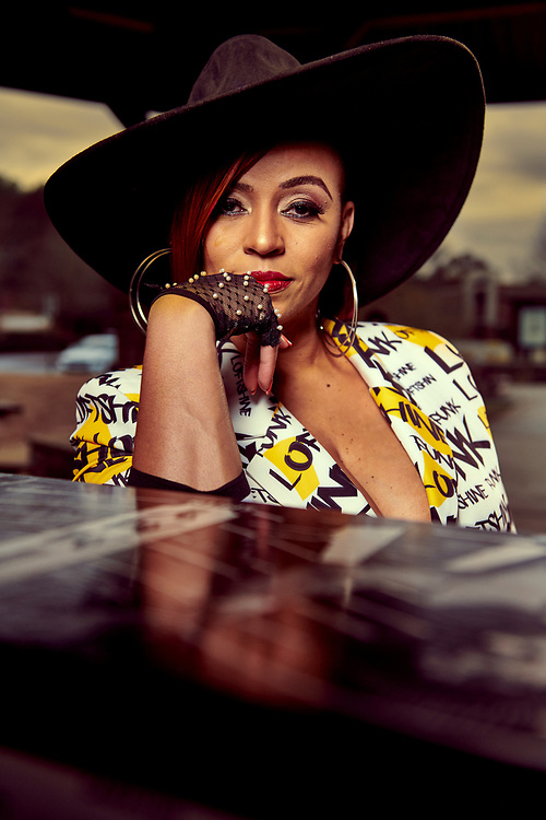 Gospel singer Darlene McCoy shot for Reel People Music.