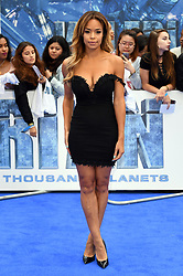Sarah-Jane Crawford attending the European premiere of Valerian and the City of a Thousand Planets at Cineworld in Leicester Square, London