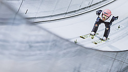 25.02.2021, Oberstdorf, GER, FIS Weltmeisterschaften Ski Nordisch, Oberstdorf 2021, Herren, Skisprung, HS106, Einzelbewerb, Training, im Bild Pius Paschke (GER) // Pius Paschke of Germany during training for the men ski Jumping HS106 single Competition of FIS Nordic Ski World Championships 2021. in Oberstdorf, Germany on 2021/02/25. EXPA Pictures © 2021, PhotoCredit: EXPA/ JFK