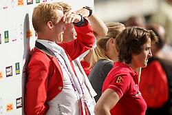 Laeremans Wendy, (BEL), Bruynseels Niels, (BEL)<br /> Team completion and 2nd individual qualifier<br /> FEI European Championships - Aachen 2015<br /> © Hippo Foto - Dirk Caremans<br /> 20/08/15