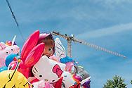 10.06.2019 Magdeburg, Europa-Fest, nähe Alter Markt.<br /> <br /> md2025.de<br /> offizielles Bild im 1. Bid-Book<br /> Bewerbung Magdeburgs zur Kulturhauptstadt 2025<br /> <br /> © Harald Krieg/Agentur Focus