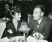 1941 Dorothy Lamour & Randolph Scott at Ciro's Nightclub