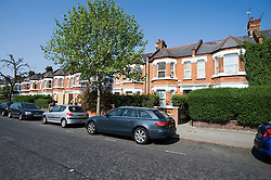 """© licensed to London News Pictures.  25/05/2011. London, UK. 29 Barlby Road (far right), North Kensington, London, where 15-year-old Isobel Reilly became unwell before being rushed to hospital where she died. Police are treating her death as """"unexplained"""", but officers were investigating whether she died after taking drugs. Please see special instructions for usage rates. Photo credit should read Ben Cawthra/LNP"""
