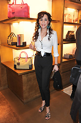 MARIE HELVIN at the opening of Loewe's new boutique at 125 Mount Street, London on 23rd March 2011.