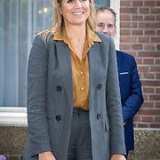 NL/Den Haag/20200702 - Maxima ontmoet vertegenwoordigers uitvaartbranche, Koningin Maxima