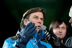 21.01.2011, St. Georgen/Murau, Kreischberg, AUT, FIS Freestyle Ski Worldcup, im Bild Landeshauptmann Franz Voves, EXPA Pictures © 2011, PhotoCredit: EXPA/ Erwin Scheriau