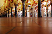 inside the Mosque - Cathedral Cordoba Spain