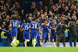 Goal, Nemanja Matic of Chelsea scores, Chelsea 3-0 Middlesbrough - Mandatory by-line: Jason Brown/JMP - 08/05/17 - FOOTBALL - Stamford Bridge - London, England - Chelsea v Middlesbrough - Premier League