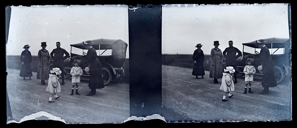 road trip early 1900s France