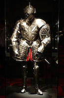 The armour of Henry VIII for national museum marketing and publicity.