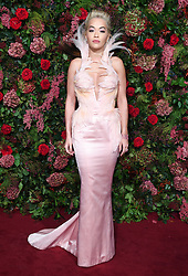 Rita Ora attending the Evening Standard Theatre Awards 2018 at the Theatre Royal, Drury Lane in Covent Garden, London. Restrictions: Editorial Use Only. Photo credit should read: Doug Peters/EMPICS
