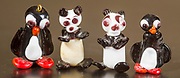 Hand crafted glass figurines