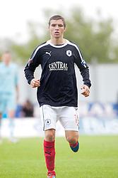 Falkirk's Luke Leahy..Falkirk 3 v 0 Stirling Albion, Ramsdens Cup..© Michael Schofield.