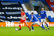 during the EFL Sky Bet Championship match between Cardiff City and Millwall at the Cardiff City Stadium, Cardiff, Wales on 30 January 2021.