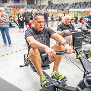 8:48 AM- APL #3- Men?s 2000m Masters D, E, F, G, H, I Para<br /> <br /> NZ Indoor Champs, raced at Avanti Drome, Cambridge, New Zealand, Saturday 23rd November 2019 © Copyright Steve McArthur / @rowingcelebration www.rowingcelebration.com