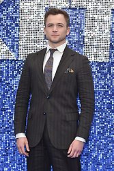 May 20, 2019 - London, United Kingdom - Taron Egerton seen during the Rocketman UK Premiere at the Odeon Luxe Leicester Square in London. (Credit Image: © James Warren/SOPA Images via ZUMA Wire)